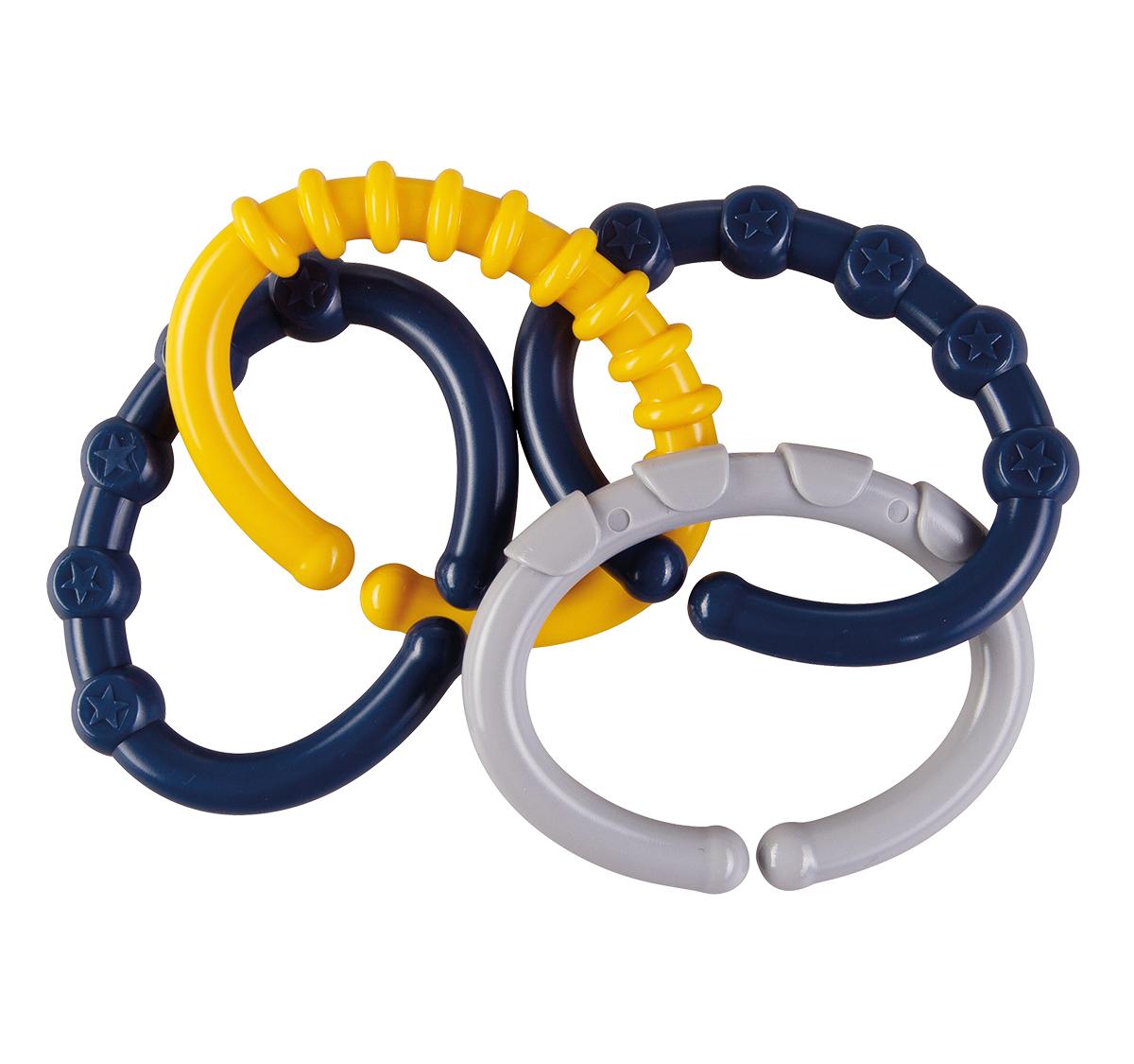 Befestigungskette C-Ring blau
