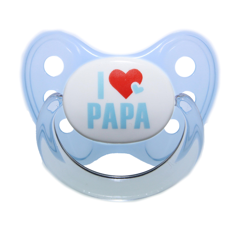 Schnuller Set I love Papa Gr. 3