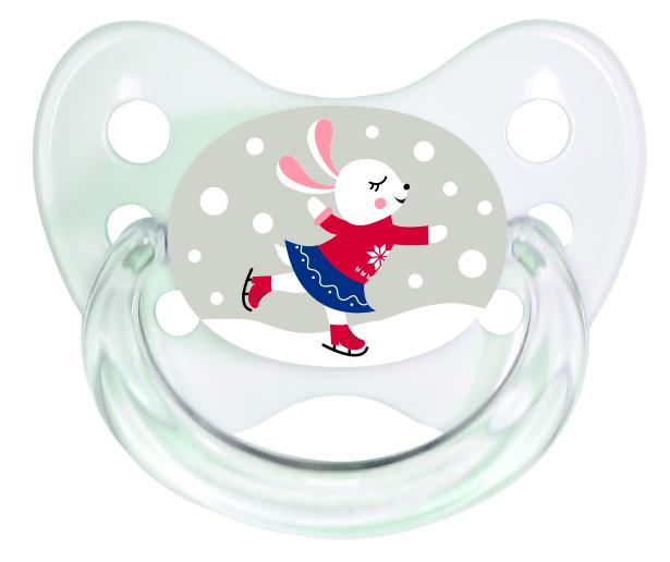 Schnuller Set Hase und Schneemann