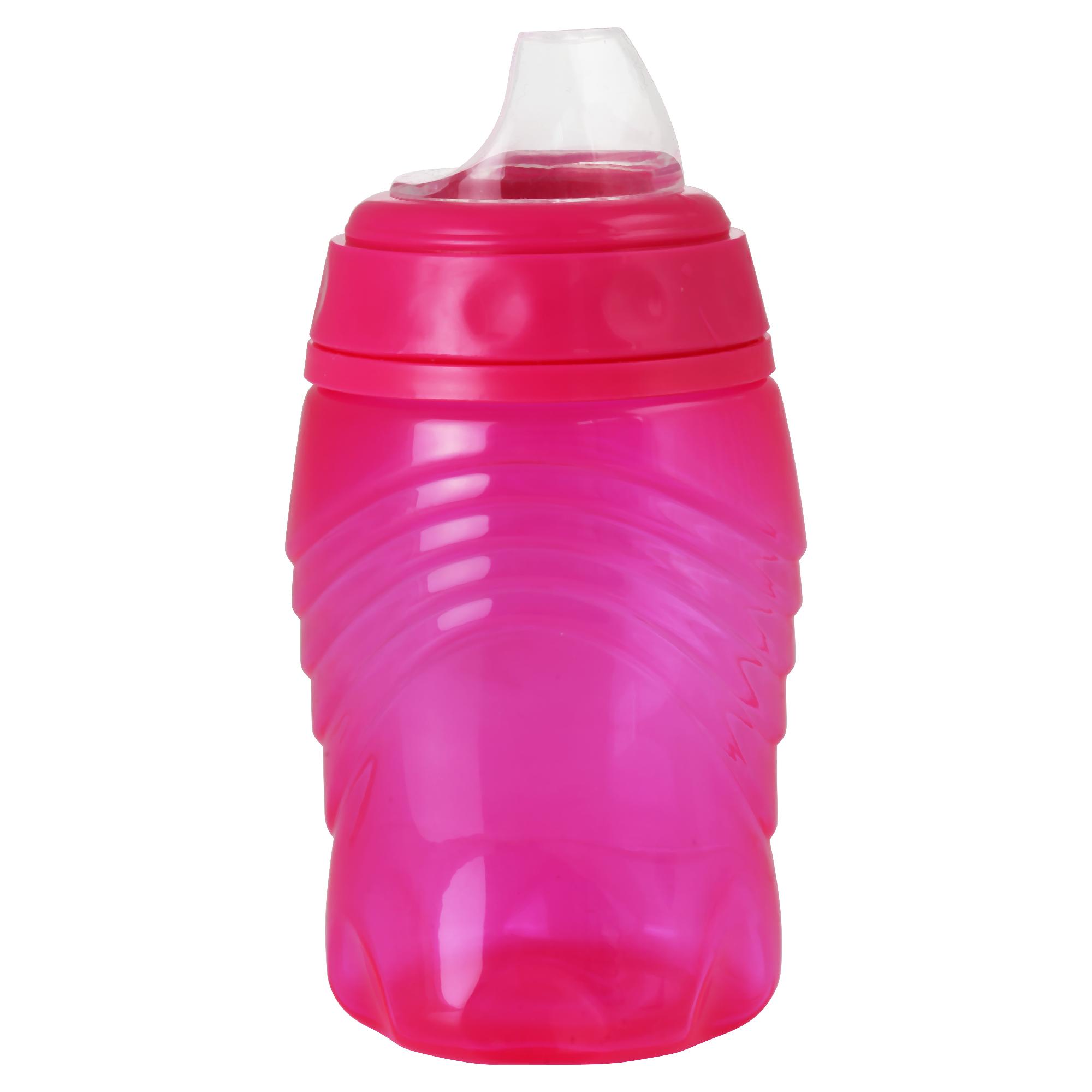 Trinklernbecher mit Soft-Trinktülle pink