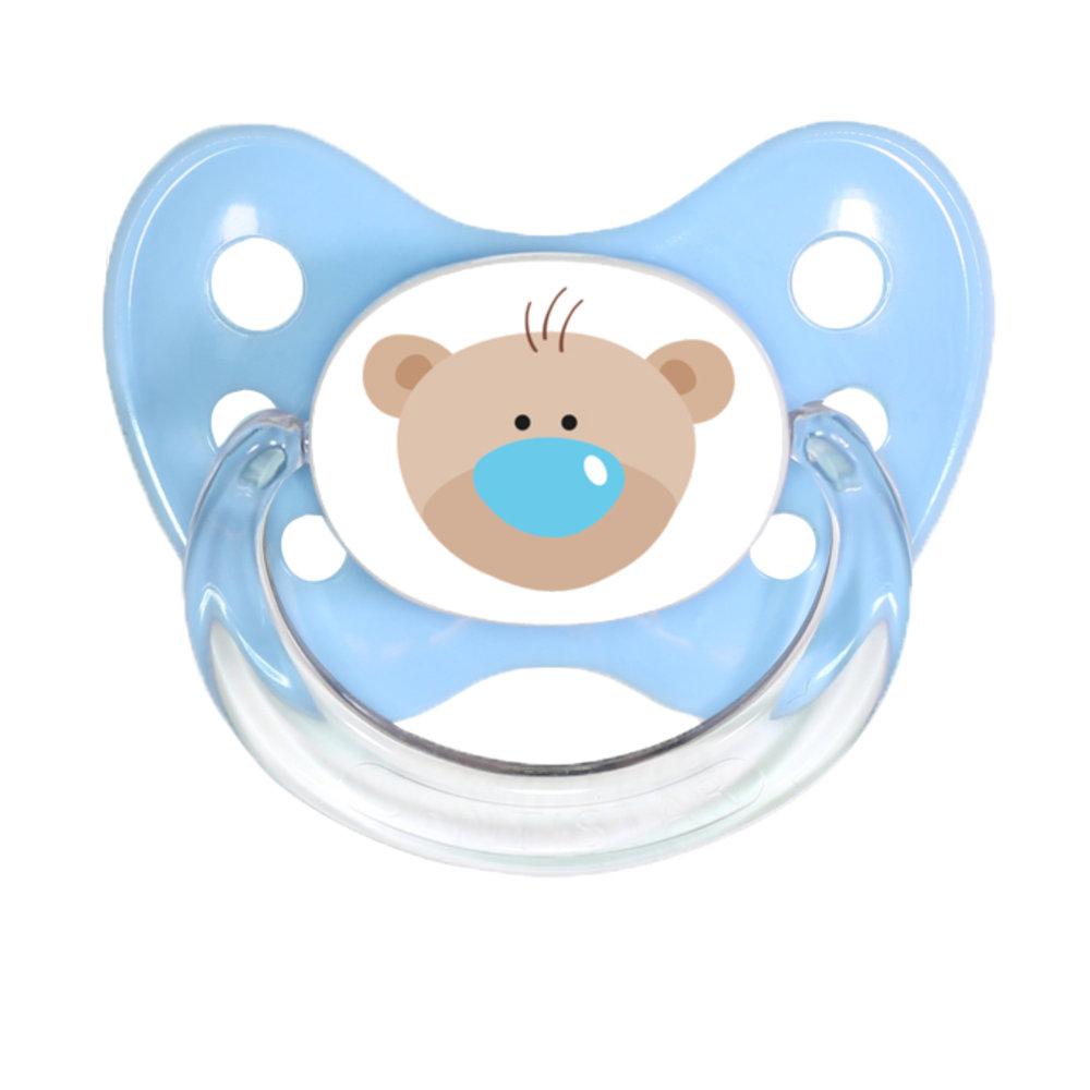 Schnuller Bär blau