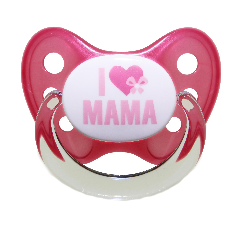 Schnuller Set I love Mama Gr. 3