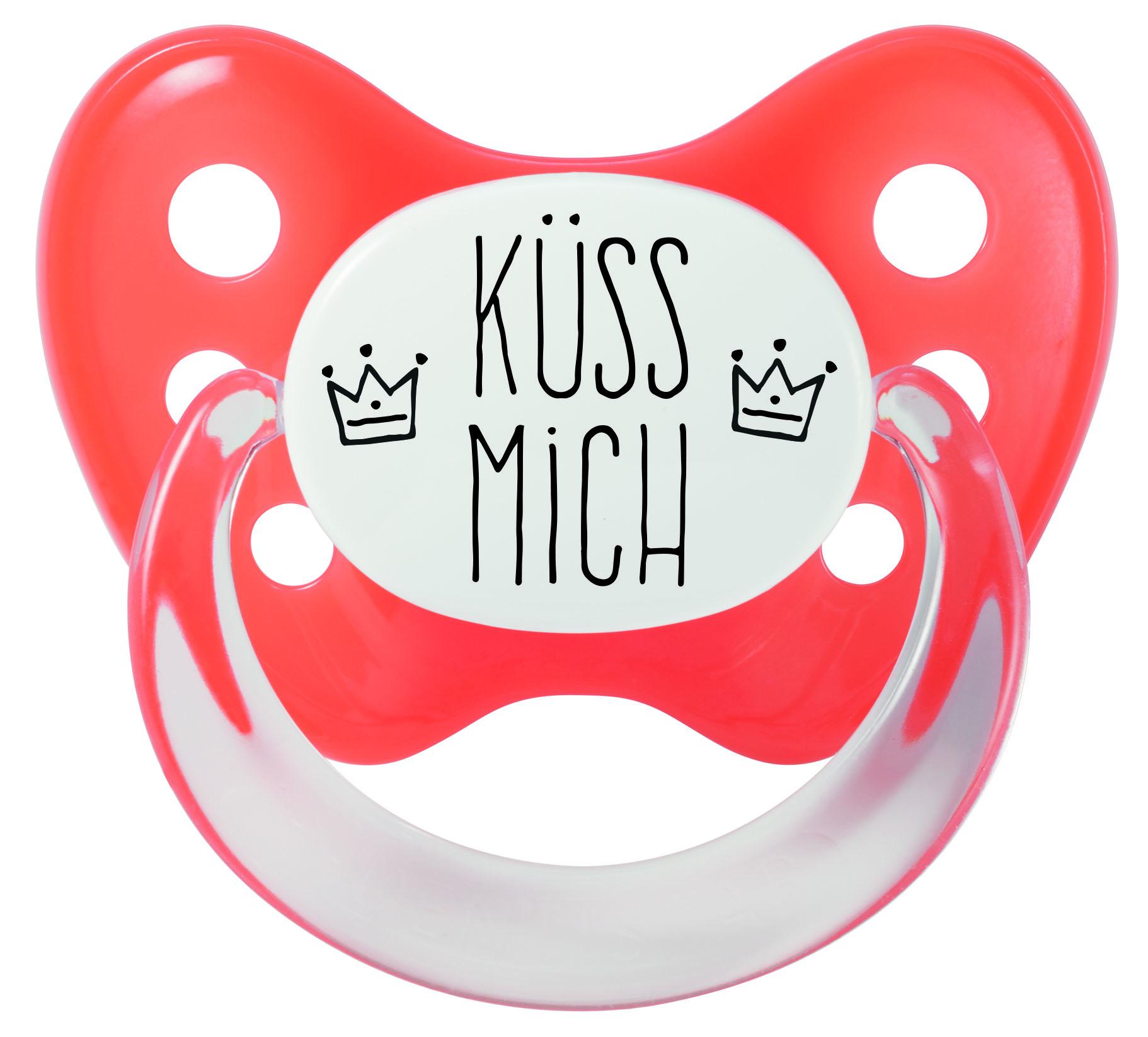 Schnuller Küss mich Gr. 2