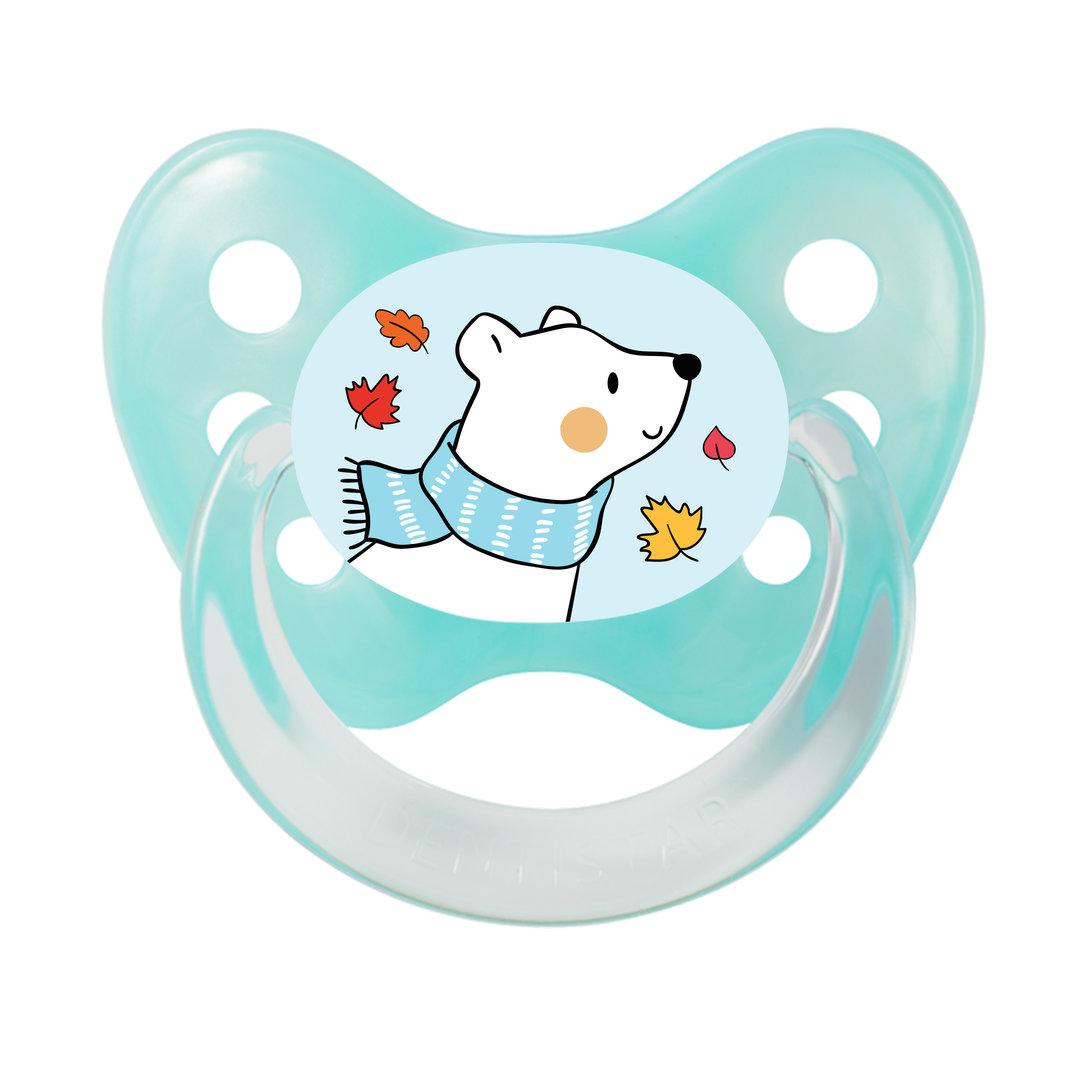 Schnuller Eisbär