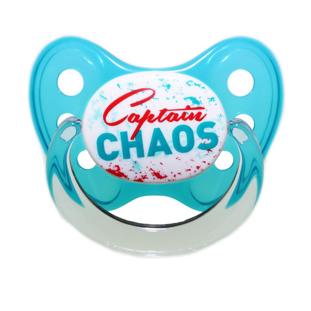 Schnuller Captain Chaos