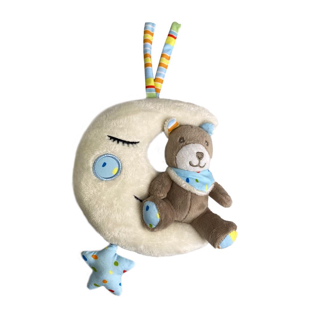 Spieluhr Teddy & Mond Brahms Wiegenlied