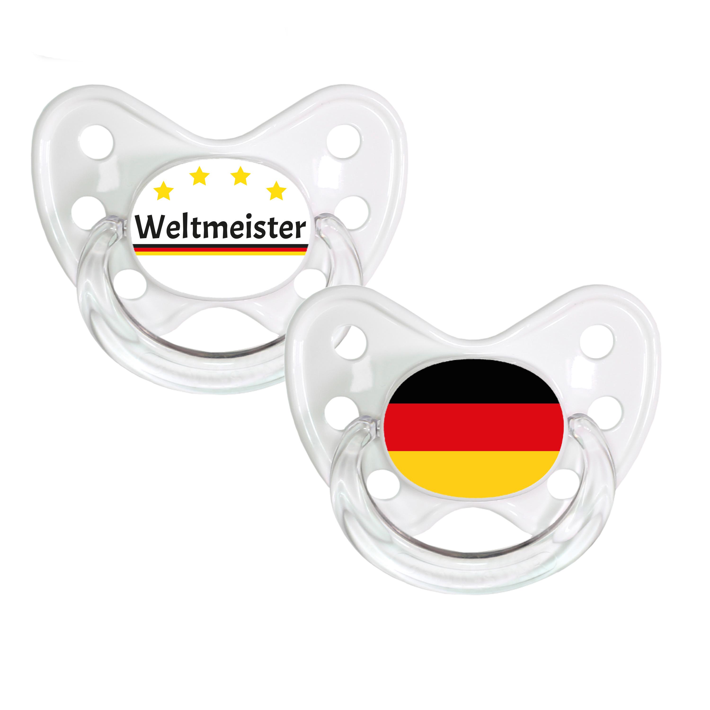 Schnuller Set Weltmeister