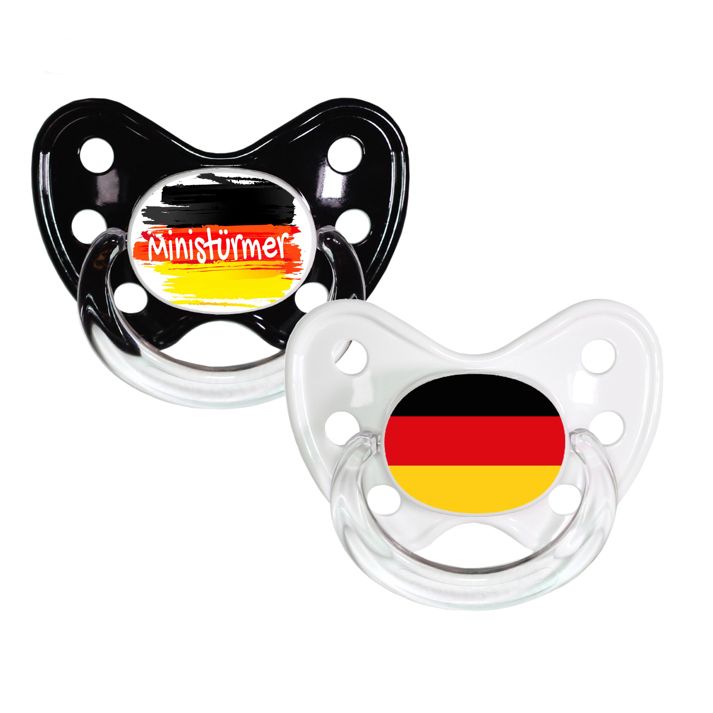 Schnuller Set Ministürmer